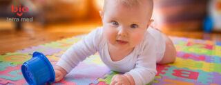 Mersul de-a bușilea - kinetoterapie copii