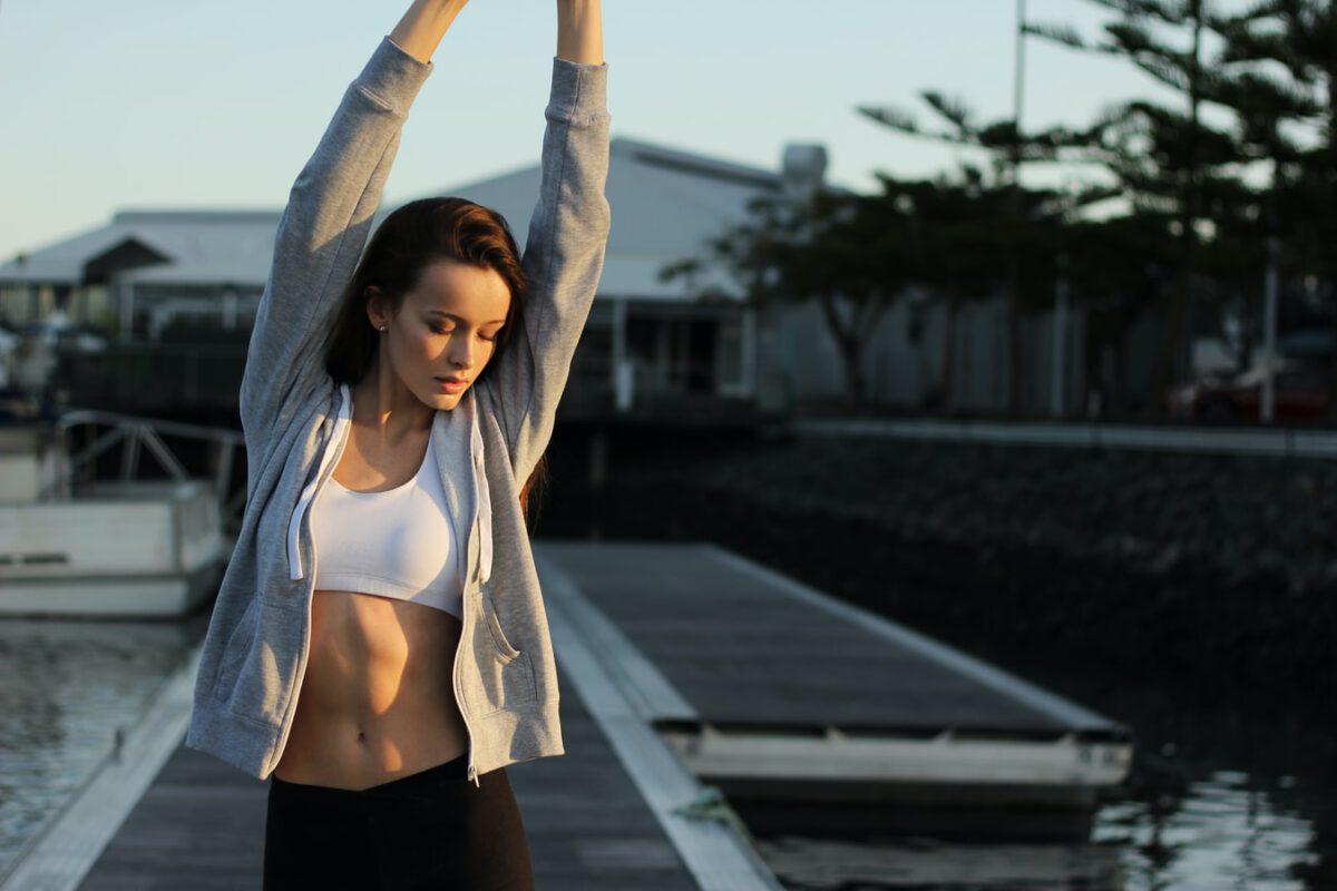 CHEK antrenament pentru muschii abdominali