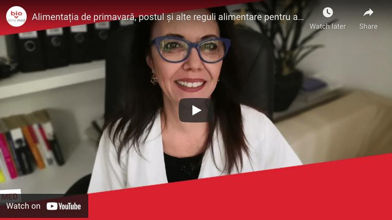 Nutriția de primăvară - Dr. Adriana Nae vă recomandă
