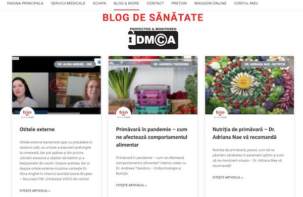 Blog de sănătate