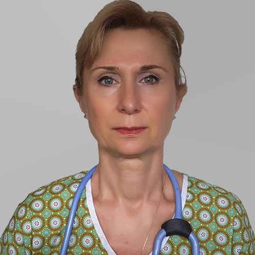 Dr. Mihaela Bolog, echipa